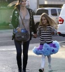 Courteney Cox Spends The Day With Coco