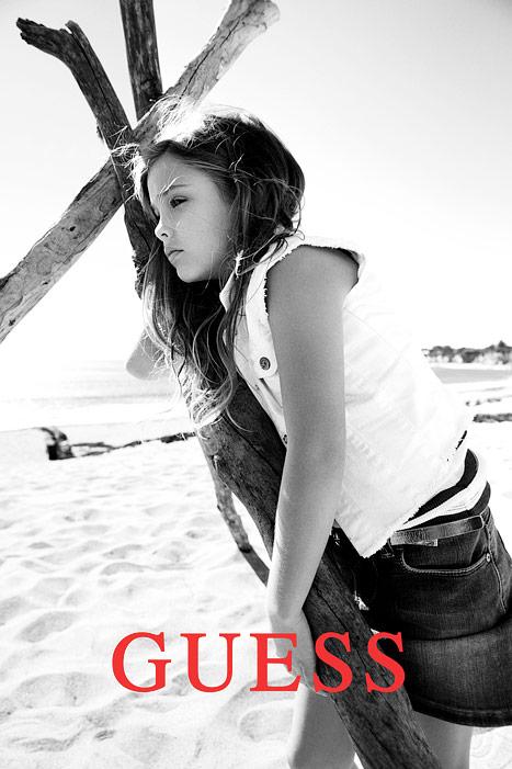Dannielynn Birkhead Makes Her Modeling Debut