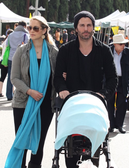 Elizabeth Berkley's Sunday Family Day
