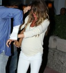 Gisele Bundchen Hides From The Camera
