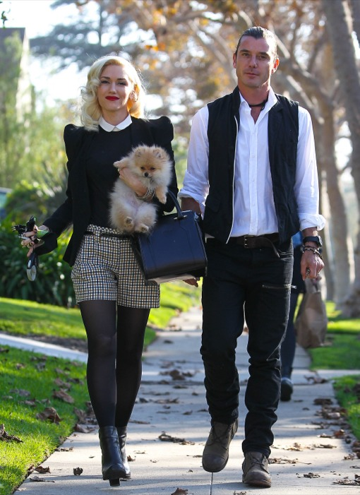 Gwen Stefani's Stylish Thanksgiving Day With Family