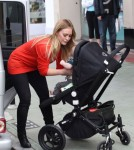 Hilary Duff Shops With Luca