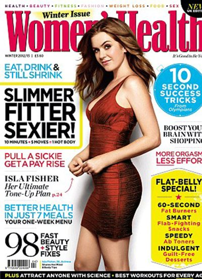 "Isla Fisher: ""I Never Had Any Body Issues During Pregnancy"""