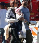 Jack Osbourne and Family Stop At Farmers Market