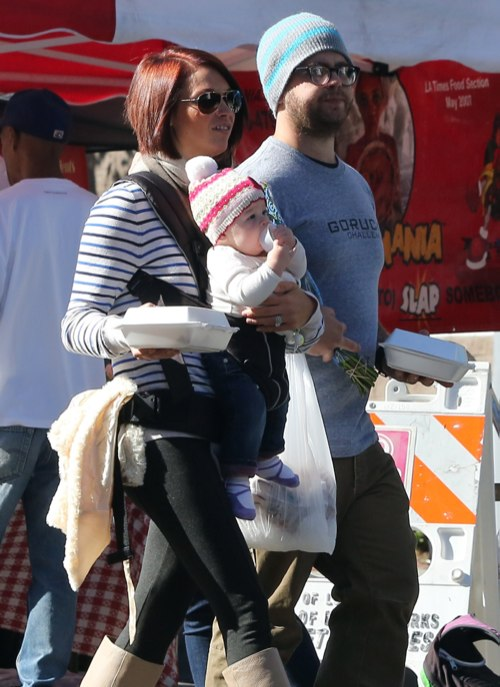 Jack Osbourne Spends A Farmers Market Day With Family