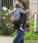 Jennifer Garner Out And About With Baby Samuel