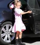 Jennifer Garner Picks Violet Up From School