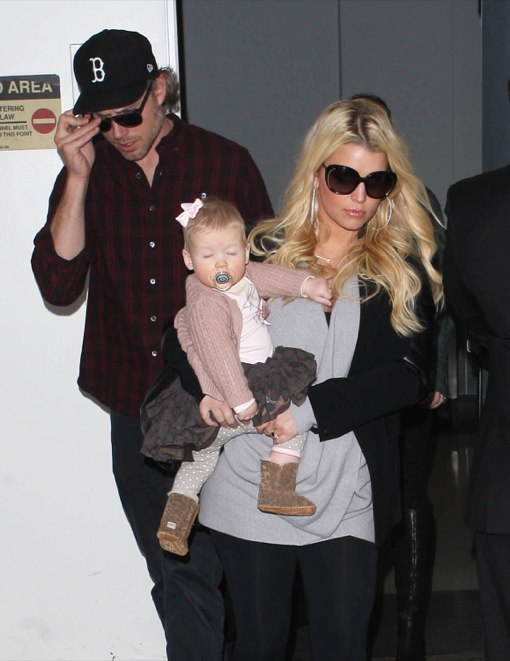 Jessica Simpson's Weight Loss Secret is Morning Sickness!