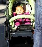 Family Fun Day for Katherine Heigl, Hubby Josh and New Baby Adalaide!