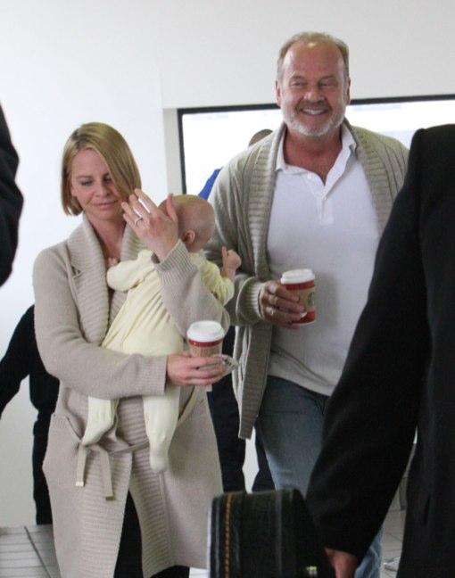 Kelsey Grammer Carries Precious Cargo
