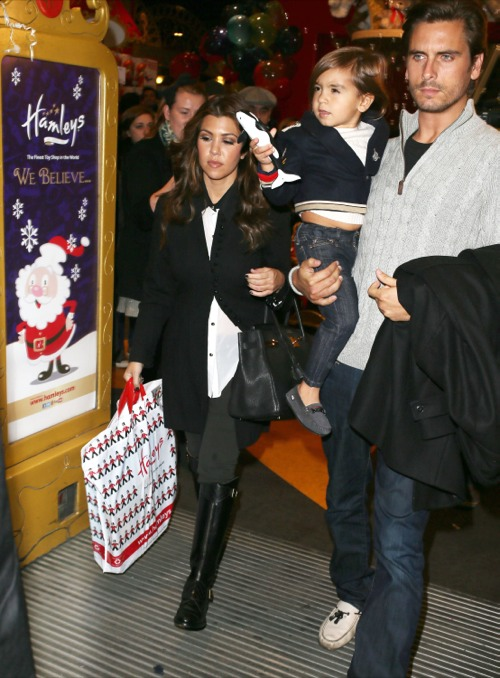 Kourtney Kardashian's London Toy Spree With Family