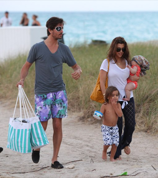 It's a Beach Day For The Kardashian-Disick Family