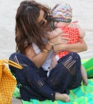 Kourtney Kardashian Takes Penelope To The Beach