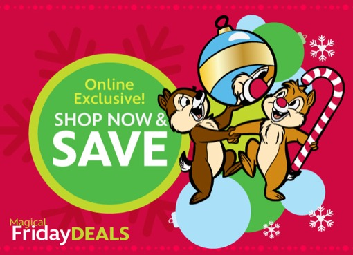 Enjoy Early Christmas Shopping With Magical Friday Deals at the Disney Store