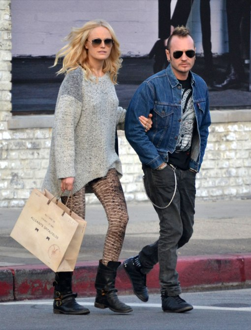 Malin Akerman Hides Her Baby Bump On Shopping Trip