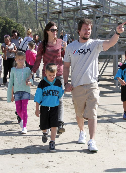 Mark Wahlberg Is A Proud Soccer Dad