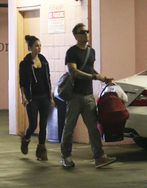Megan Fox & Brian Austin Green Take Noah For a Check Up