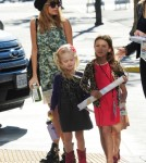Semi-Exclusive... Nicole Richie Takes Harlow To The Fresh Beat Band Concert