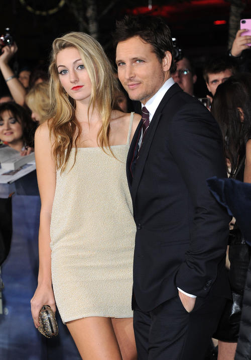 Peter Facinelli Takes Daughter Luca To The Twilight Saga: Breaking Dawn 2 Premiere