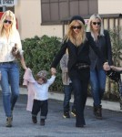 Rachel Zoe & Rodger Berman Take Son Skyler To Lunch