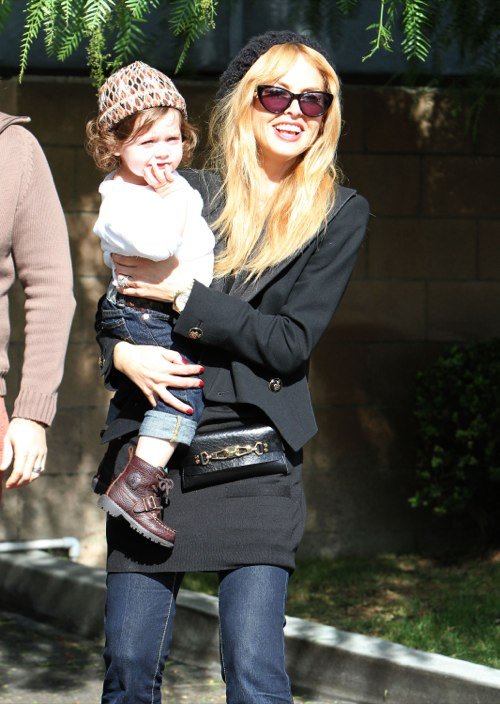 Rachel Zoe Is All Smiles As She Enjoys Lunch With Skyler