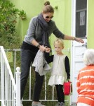 Rebecca Gayheart Picks Up Daughter Billie from School