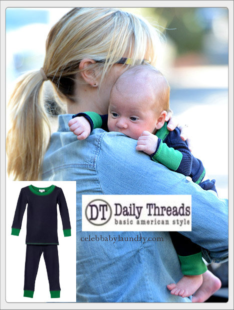 Celeb Baby Style: Reese Witherspoon Debuts Her Son Tennessee In Daily Threads