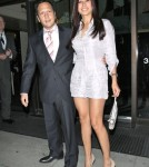 Rob Schneider And Wife Patricia Out For Dinner At Mr. Chow