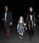 Semi-Exclusive... Rupert Sanders and Liberty Ross Celebrate Halloween with the Kids