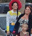 Sandra Takes Louis Trick Or Treating