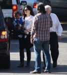 Exclusive... Sandra Bullock Celebrates Thanksgiving With Family
