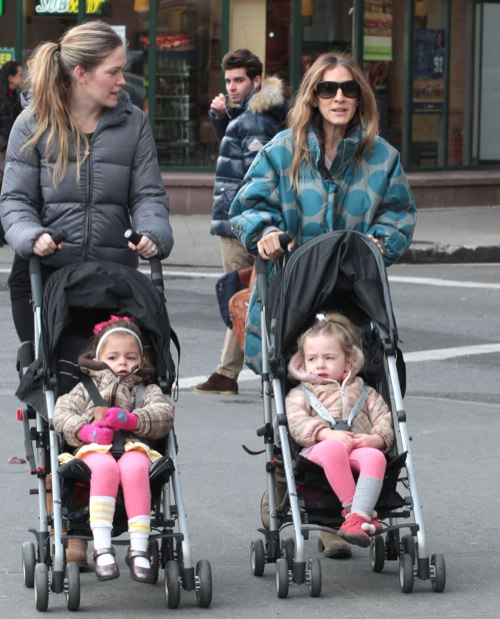 Sarah Jessica Parker Makes The School Run