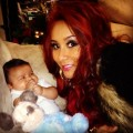 Snooki's Tweets Thanksgiving Photo With Lorenzo