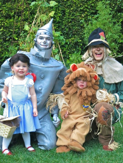 Neil Patrick Harris Family Wizard Of Oz Halloween