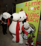 Snoopy Brings A Little Love To Long Beach