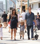 Matthew McConaughey and Family Take a Walk Down the NYC Coast
