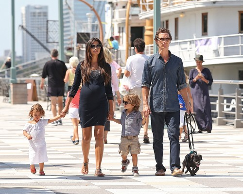Matthew McConaughey Is A Father Again, Camila Alves Gives Birth