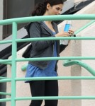 Semi-Exclusive... Pregnant Jenna Dewan Leaving The Gym In West Hollywood