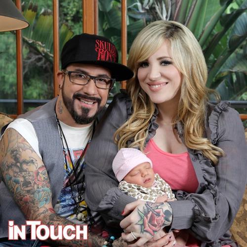 AJ McLean Debuts Newborn Daughter Ava