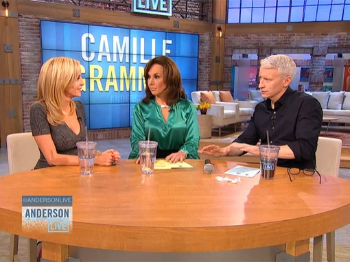 Camille Grammer On Anderson Cooper