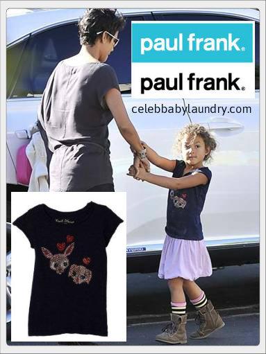 Celeb Baby Style: Nahla Aubry Wearing Paul Frank