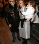 Celine Dion & Family Leaving Their Hotel In Paris