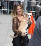 "Drew Barrymore visits ""The Late Show with David Letterman"""