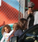 Halle Berry Picks Up Nahla Then Visits A Friend