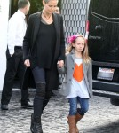 Heidi Klum And Kids Have A Busy Day In Los Angeles