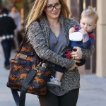 Hilary Duff: It's Hard To Be Away From Luca