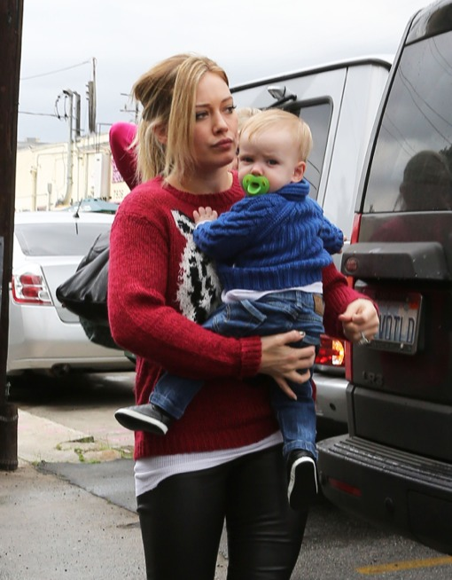 Hilary Duff Enjoys a Mommy-Son Day With Luca