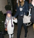 Jessica Alba & Honor Step Out In London