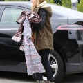 Exclusive... Kristen Bell Out And About In Beverly Hills