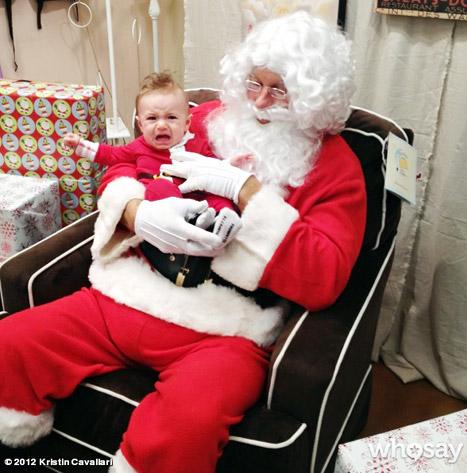 Kristin Cavallari Tweets Camden Meeting Santa